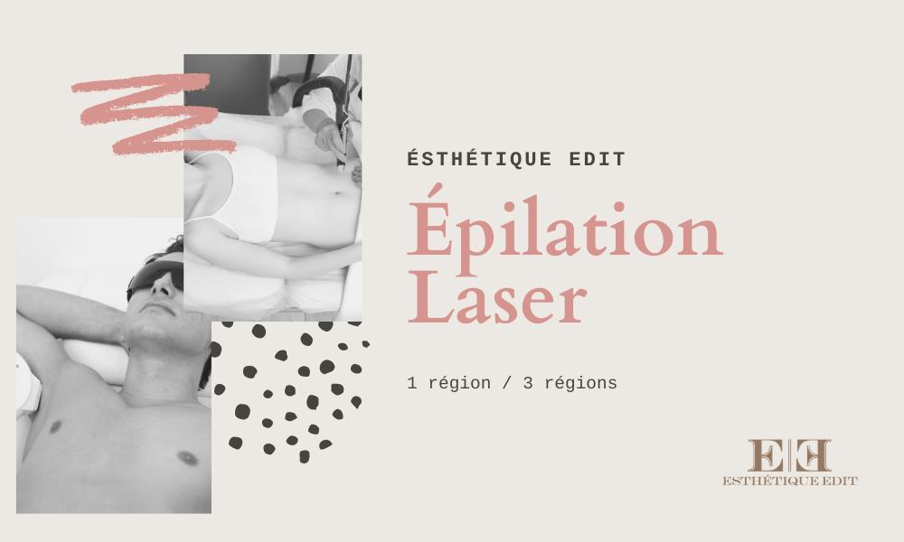 Image epilation laser